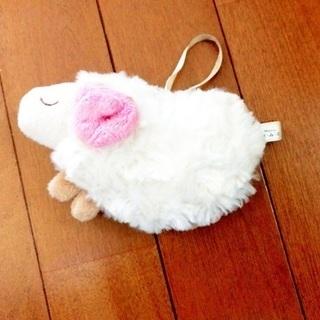 ぬいぐるみ 香り袋??  ほんやら堂 おやすみ羊