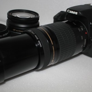 canon kiss x7i 標準!望遠!単焦トリプルレンズセット - 宇都宮市