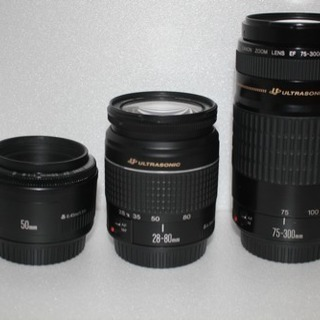 canon kiss x7i 標準!望遠!単焦トリプルレンズセット − 栃木県