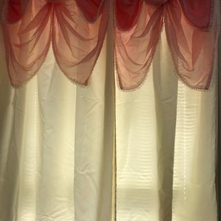 カーテン 2枚セット サイズ 幅100センチ 高さ178センチ