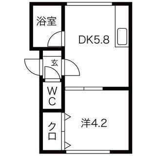 SW駅徒歩圏内・セコム対応・スーパー徒歩圏内・ガスFF暖房・シャワー・クローゼット - 札幌市