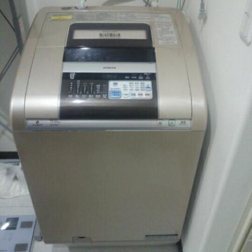 日立ビートウォシュ洗濯機(引き...