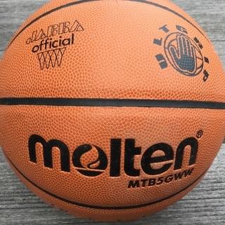 ミニバスケットボール用 5号球 天然皮革 モルテン JB2020