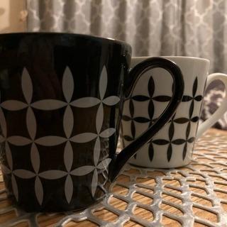 モノトーン♡ペアミニマグカップ