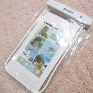 【新品】スマホ 防水ケース タッチ通話可能 iPhone X/8...