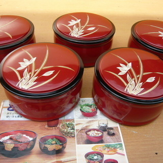 飯椀(汁椀)5客・未使用品