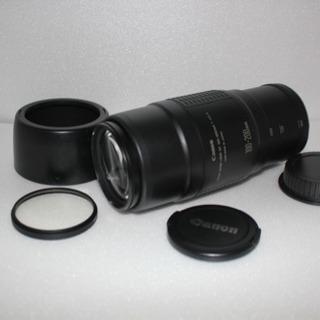 ♥️運動会、イベントで大活躍♥️望遠レンズCanon EF 100-200mm - 家電