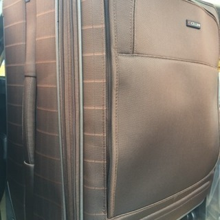 新品 ソフトスーツケース 4輪 大型 66771  ブラウン