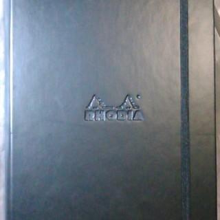 ロディア ウェブノートブック A5 横罫 ブラック