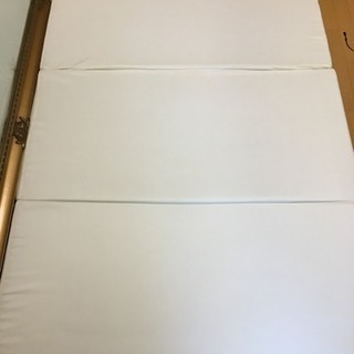【引取限定】三つ折りマットレス