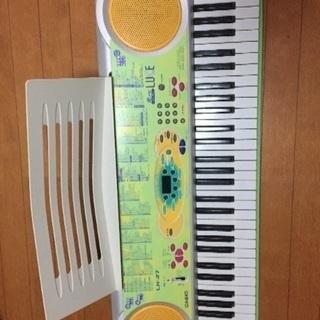カシオ 光ナビゲーション キーボード 61鍵盤 ルーチェ LK-37