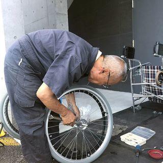 車椅子の安全点検・軽整備・軽修理・清掃・運搬・販売・引き取り(札幌市内)致します。基本無料 - 札幌市