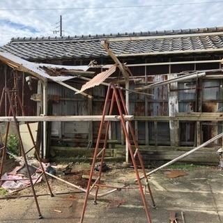カーポート、倉庫、フェンスの解体・撤去 知多半島の便利屋・…