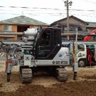 地盤改良工・土木(重機・クレーン)