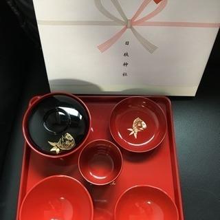 お食い初め膳 日枝神社