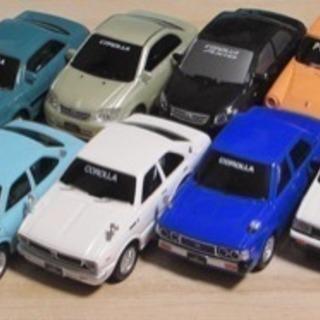 カローラ50周年記念プルバックカーセット