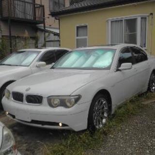 BMW745i 稀少左ハンドル 正規ディーラー車 バイパーセキュリ...
