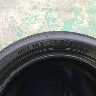 国産中古タイヤ 165/55R14 ブリジストン ネクストリー