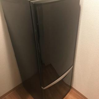 168L 冷蔵庫 黒