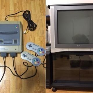 アナログテレビ と スーパーファミコン