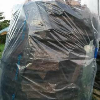 広葉樹(雑木)の未乾燥薪1.2立米(軽トラ1.5台分)