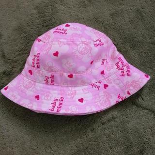 お値下げ!ミニーちゃん ベビー帽子