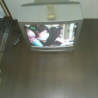 テレビデオ 21インチ タダで上げます。