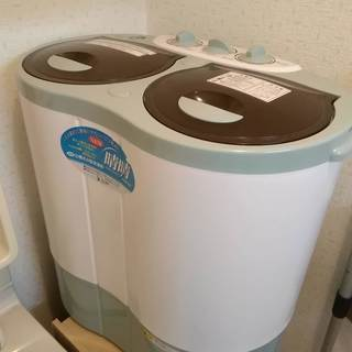 ミニ洗濯機 ALUMIS アルミス 2槽式小型洗濯機 NEW 晴...