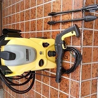 ケルヒャーK3サイレント 60Hz 高圧洗浄機  汚れ有りの完動品