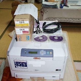 無料 OKI A3カラーレーザープリンター