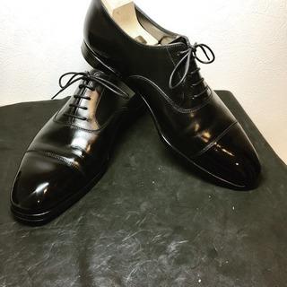 靴磨き、賜ります