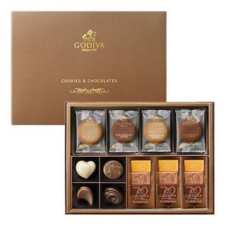 GODIVA クッキー&チョコレートアソートメント(8枚&13粒...