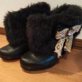 再値下げ!LIZ LISA ショートブーツ Sサイズ