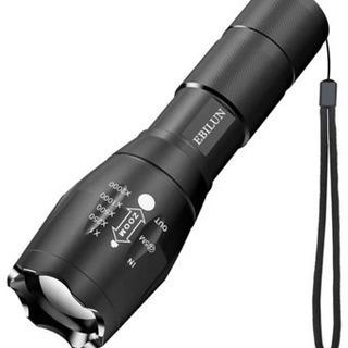 懐中電灯 LED 戦術 ハンディライト 強力 ズーム式 5モード...