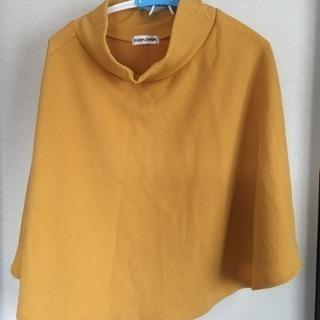 [新品未使用]M黄色のスカート(秋/冬用)とMグレートップ