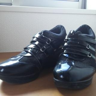 再終値下げ)おまけ付き おしゃれな靴 ウオ-キングシューズ  サ...