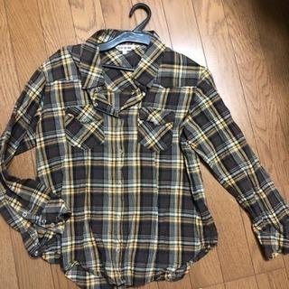美品  チェックシャツ