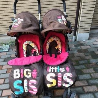 <訳あり格安>双子用ベビーカーCosatto「Big Sis &...