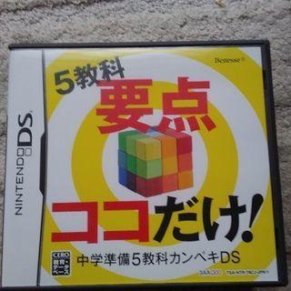 DSソフト 5教科要点