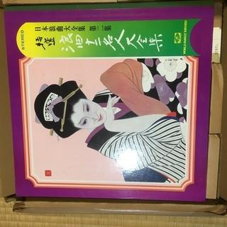 日本浪曲大全集第2集 浪曲12名人大全集 LP