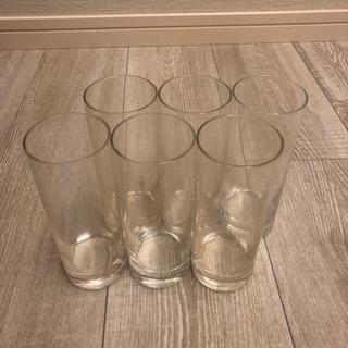 【値下げしました】タンブラーグラス 6点セット 6cm×15cm