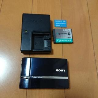 SONY Cyber shot デジタルカメラ 黒