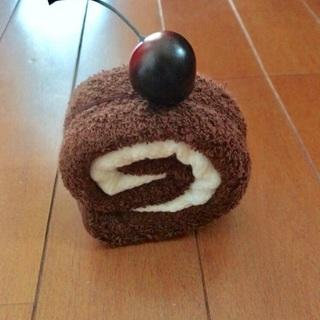 ロールケーキ ハンドタオル