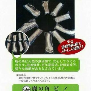 ★北海道産蝦夷鹿の角★ 犬用無添加おやつ