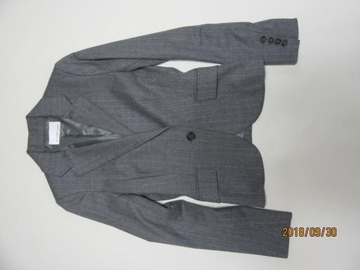 4ad8240e94186 M-PREMIERスーツ上下グレー (たろう) 西宮北口のスーツ《レディース》の ...
