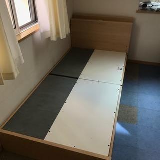 シングルベッド フレーム 木製 ニトリで購入