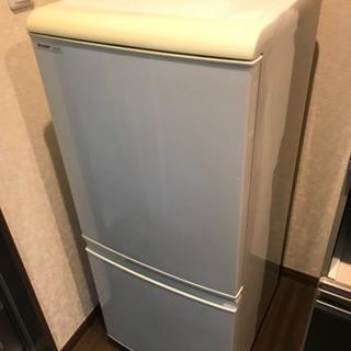 【決まりました】SHARP冷蔵庫 SJ-T14R-W 137L ...