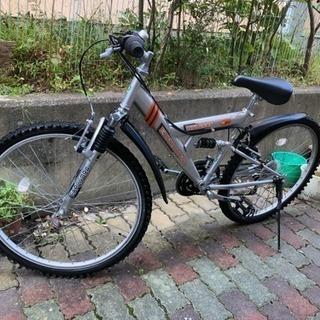 自宅物置保存 マウンテンバイク