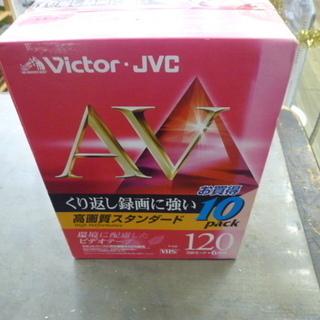R 未使用品 Victor 120分ビデオテープ10本パック(ス...