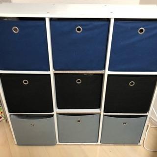 カラーボックス型収納棚